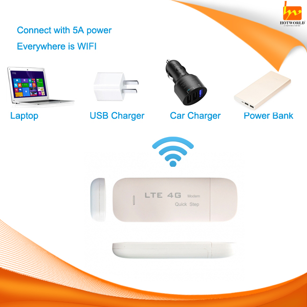 Customize Download 100Mbps 4G LTE wifi USB dongle