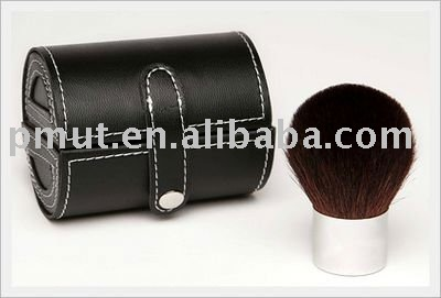 kabuki brush with cylinder case