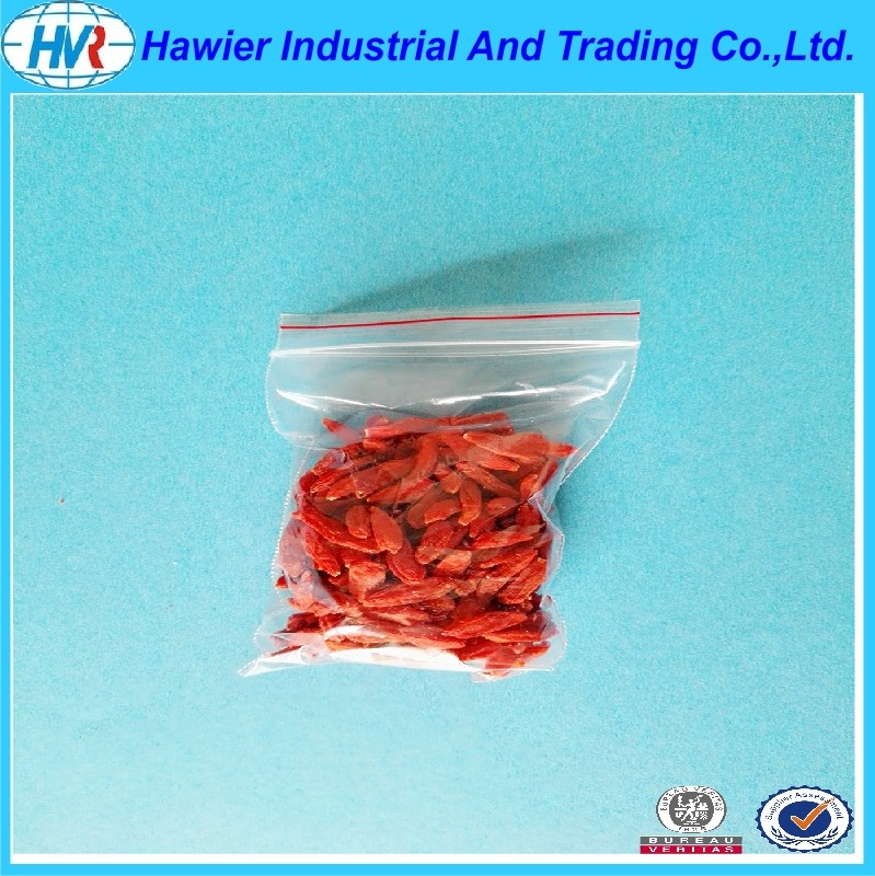 2016 New Production Reclosable Plastic LDPE Zipper Bags from Hawier