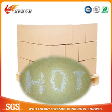 thermo glue particle for PET flimed box with best price