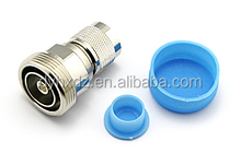RF connector din 7/16 female to n male adapter