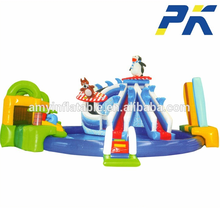 Factory supplied customized water park playground inflatable backyard water park for kids