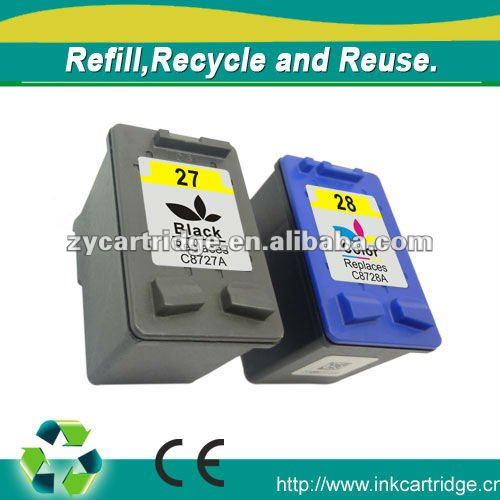 Printer accessories--remanufactured ink cartridge for HP 8727 8728