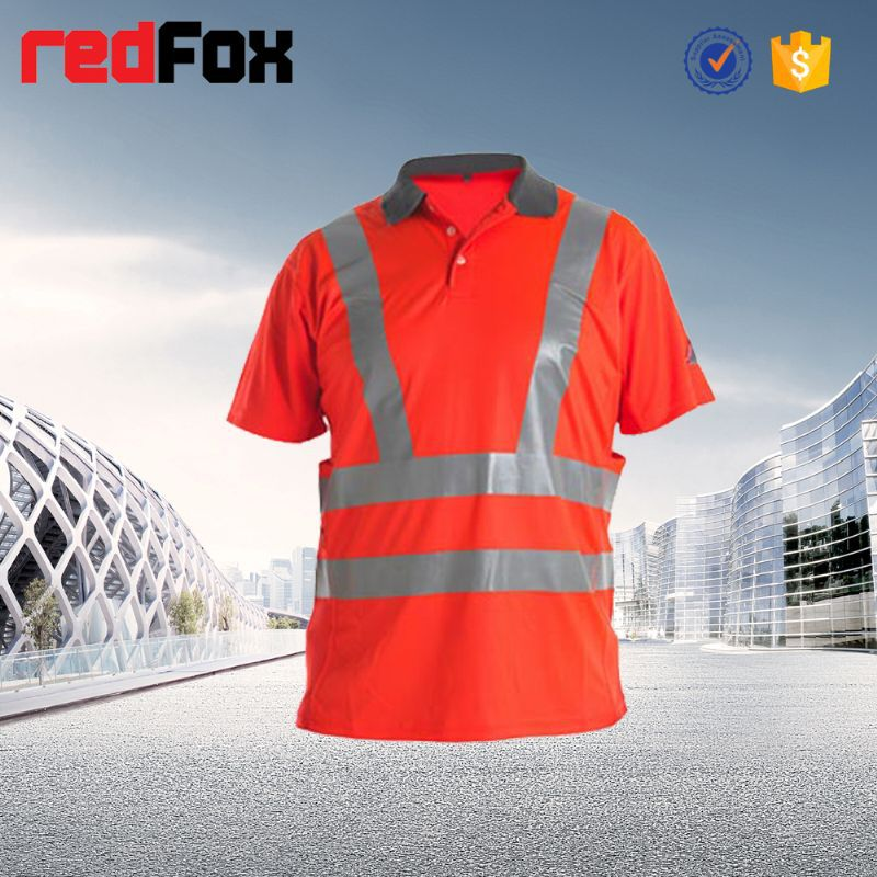 reflective safety golf t shirt