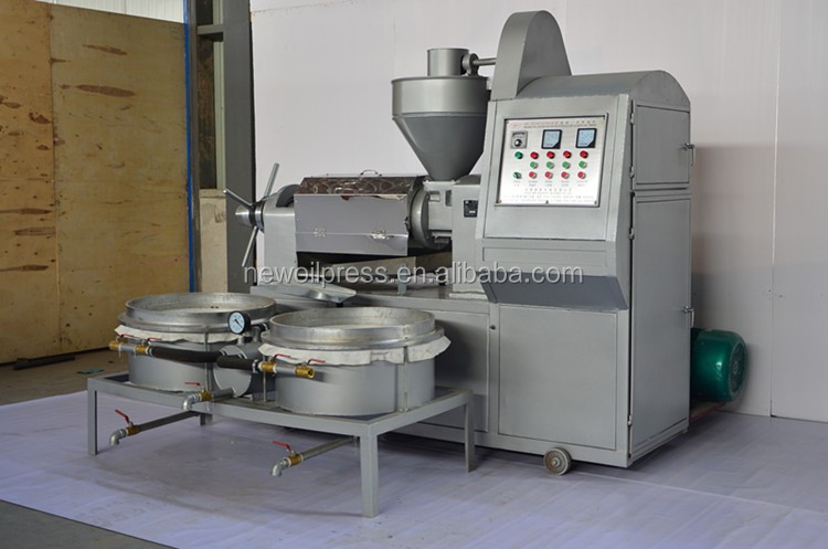 Cold Press Linseeds Integrated Oil filter expeller