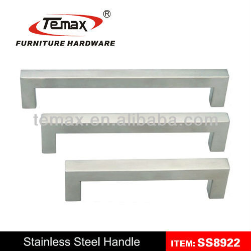 smooth natural anodized new 6061-t5 extruded aluminium furniture handles
