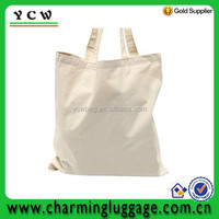 Lightweight Economy Natural White No Gusset Cotton canvas tote Bags