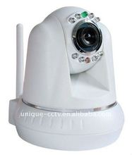 Home small wireless network security camera, Pan/Tilt,alarm in/out