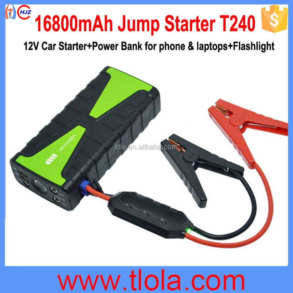 T240 Jump Starter 16800mAh Power Bank for Mobile Phone & Laptops Charger