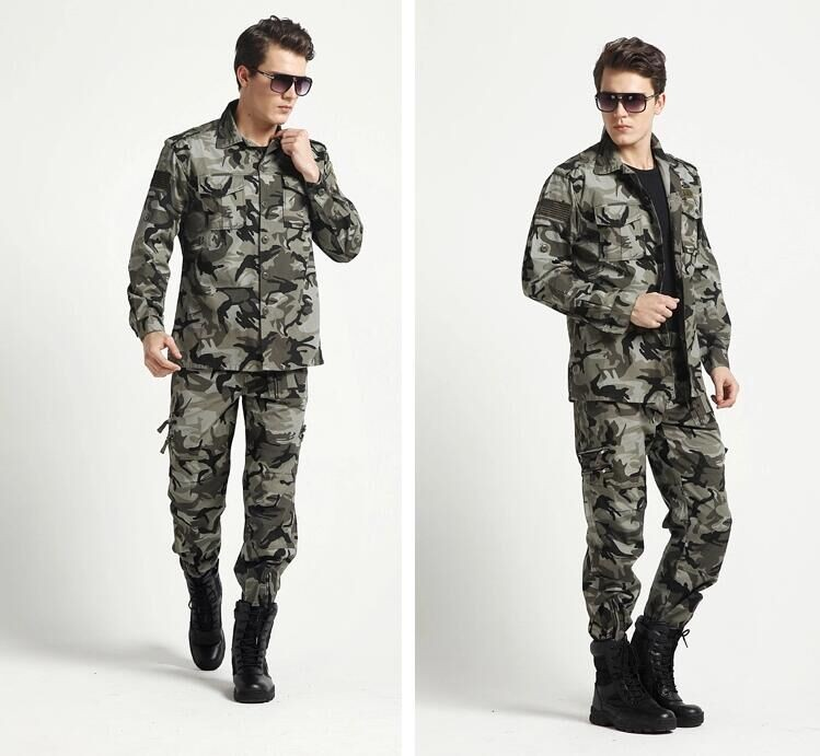 New Factory Supply Breathable Army Suit Woodland Used Military Clothing
