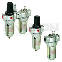 Pneumatic source treatment units filter+regulator lubricator air filter S series FRL Combination