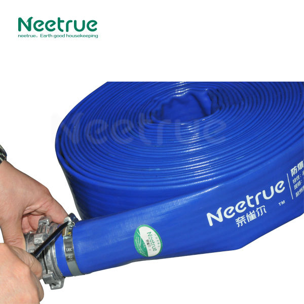 Professional easy storage heavy duty industrial pvc water flow pipe