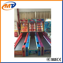 2015 hot sale commercial kids coin operated arcade bowling simulator machine /electronic amusement game machine for sale