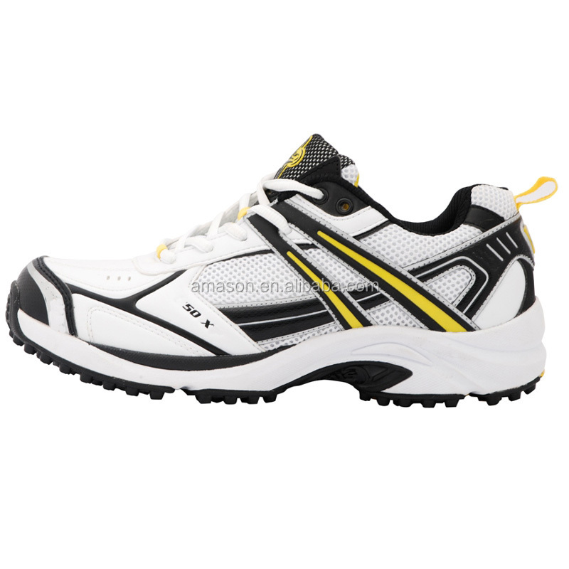 2015 Sports games professional cricket shoes power cushion technology cricket shoes high strength upper