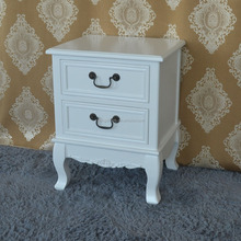 China Manufacturer Supplier PU Painted White Glossy Finish Drawer Cabinet Wood Furniture