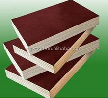 film faced shuttering plywood /Shandong construction materials Film Faced Plywood / 12mm marine plywood