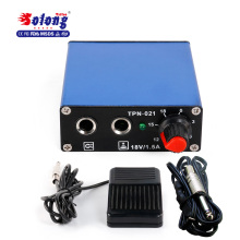 Solong tattoo Power Supply /Foot Pedal /Clip Cord P163 tattoo machine switching LCD Tattoo Power Supply