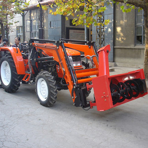 Chinese 4wd 40hp Farm Tractors with Snow Blower