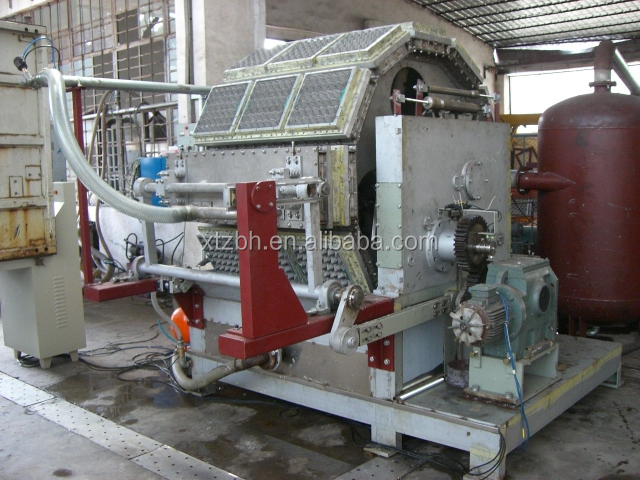 biodegradable bagasse paper pulp plate making machine Egg tray machine india