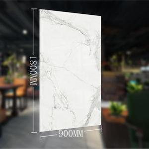 China supply large format porcelain tile 1800x900mm light weight shower wall panels flower art rustic thin ceramic tiles