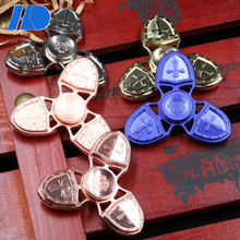 Top Selling Relieve Stress Wind Hand Finger Spinner Toys High Quality Custom Metal Fidget Spinner With 608 Ceramic Bearing