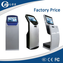 Hot Sale 17 inch Touch Kiosk Machine Press Queue Ticket Dispenser with ID IC Card Reader