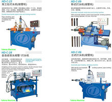 custom made metal pipe end forming machine series(diameter4mm to 65mm)