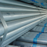 top quality galvanized ERW composite steel pipe/steel tube with best price