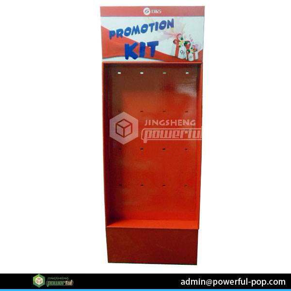 Corrugated store and supermarket clothing socks display stands custom point of purchase displays