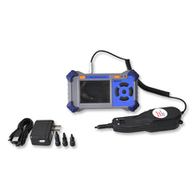 Handheld Video Optic Fiber Inspection Microscope with Cleaning Tool Kits
