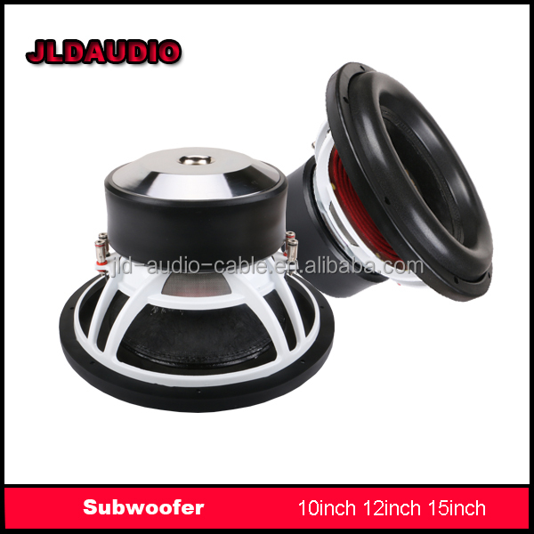 "JLD subwoofers for 12"" DUAL 2OHMS with 12inch 1000 watts car subwoofer"