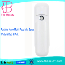 Handy Mist Spray Portable Nano Spray Moist Face Care Moisturizing Beauty Tool Handy Atomization Mister AAA Batteries