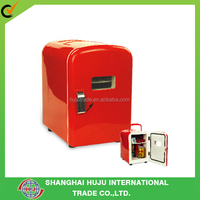 Red mini air cooler/ mini fridge heater & cooler/ red mini freezer for car