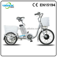 New three wheel electric motor super pocket bike with a genertor