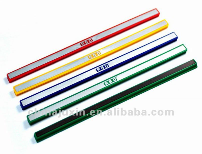 hard plastic colorful magnetic strip