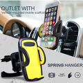Universal Cell Phone Holder Stand Adjustable Car Air Vent Mount GPS Car Mobile Phone Holder for iPhone 7 5S 6S Plus Samsung S7