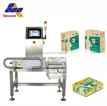 Cheap online automatic weight sorting machine/automatic conveyor weight checker
