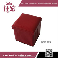 plastic compartment felt handbag folding storage stool box