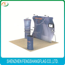 Environmental multipurpose press printing velcro pop up display stands for activity