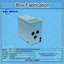customized aluminum sheet metal enclosure stainless steel sheet metal fabrication box