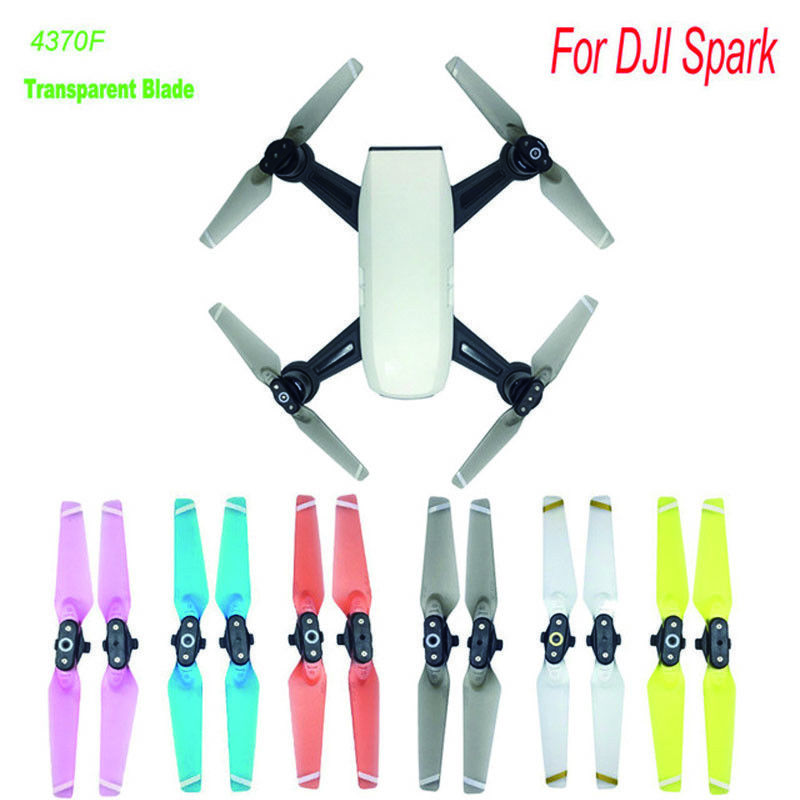 Newest 4730F Quick-release Foldable Colorful Propellers For DJI SPARK Drone