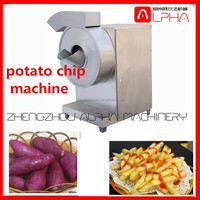 fully automatic commercial potato chips clip stick cutter machine/potato chips making machine/potato chips cutting machine