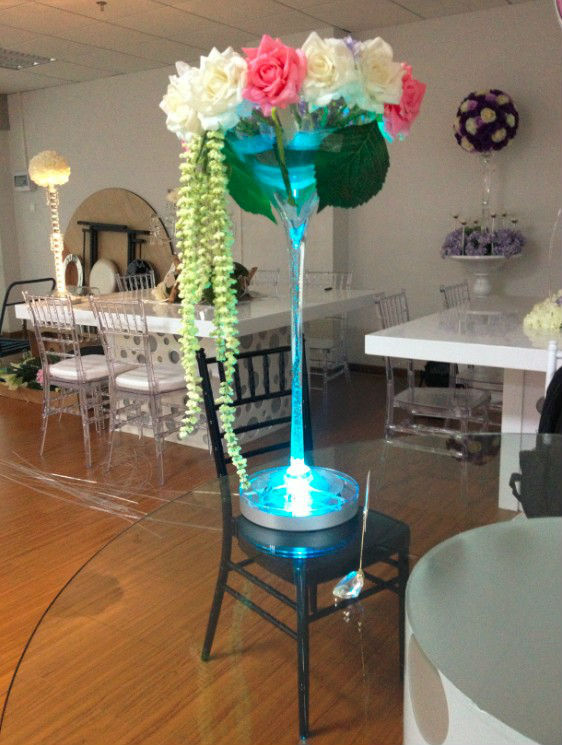 Occasion Party Light For Bouquet/Event Table Lighting LED Vase Light