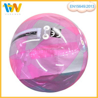 2015 Colorful inflatable water walking ball renta lwater walking ball