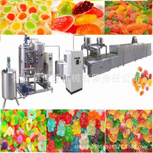 Automatic Jelly Gummy Candy depositing Machine jelly candy production line soft candy machine