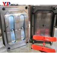 New design plastic injection molded toilet brush plastic mould manufacturer