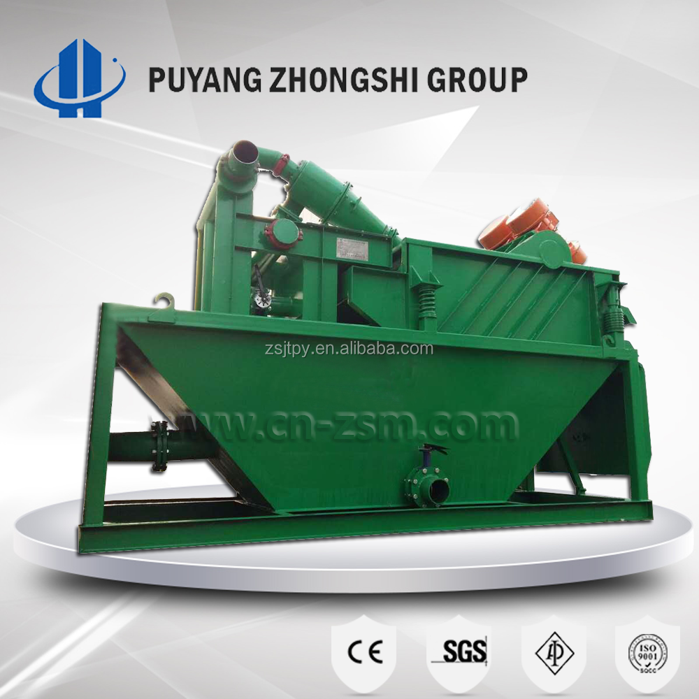 Factory High Efficiency Drilling Mud Slurry Hydrocyclone Desander, High Quality Desander