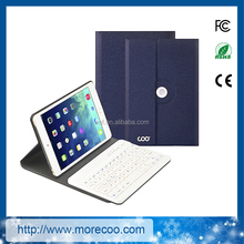 2017 hot sale cover case with wireless bluetooth keyboard