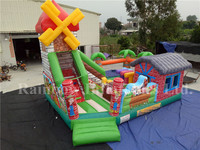 Kids Bouncy Castle Funny Farm Giant Inflatable Fun City