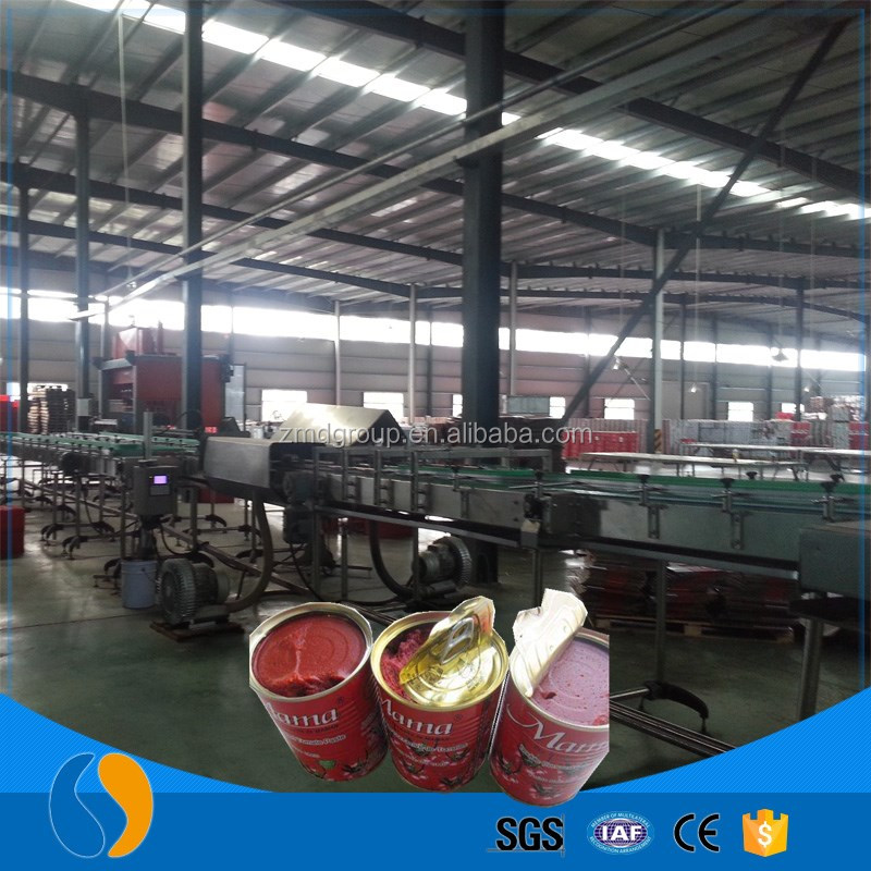Tinned tomato concentrated juice processing plant
